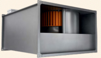 Канальный вентилятор VP 80-50/40.8D