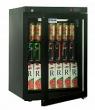 Холодильный шкаф DM102-Bravo черный с замком
